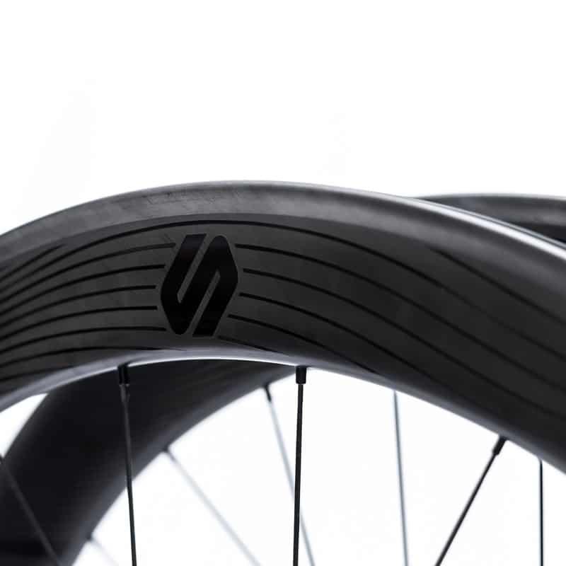 Speedsix Air 65 Cubierta   Rueda de Carretera de Carbono para Bici