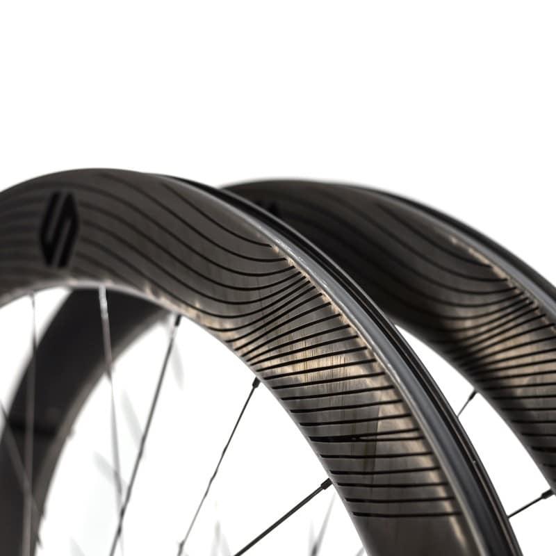 Ruedas carbono: Air 65 Disco Cubierta